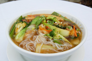 Mixed Vegetable Noodle Soup