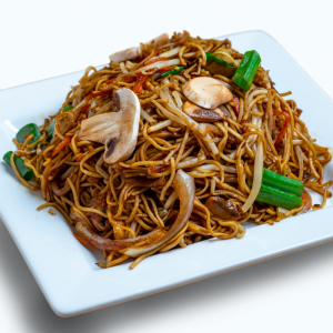94. Mushroom Chow Mein - 蘑菇炒面