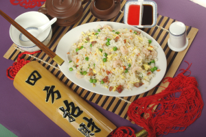 108. Pork & Shrimp Fried Rice