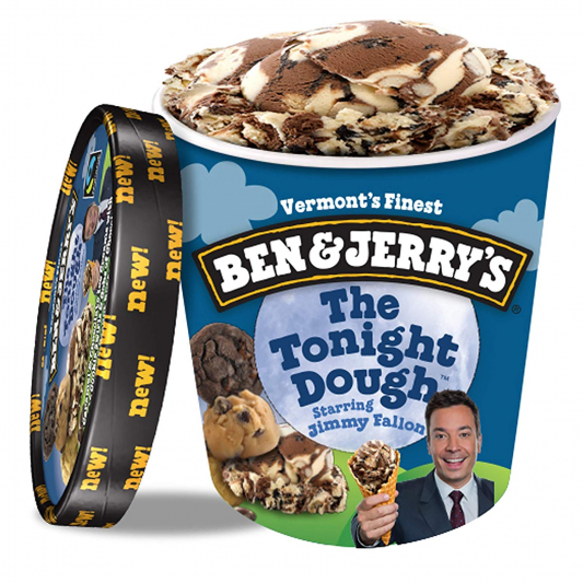 Ben & Jerry's The Tonight Dough Ice Cream