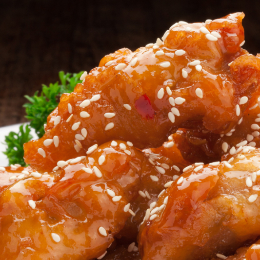 52. Honey Garlic Chicken Balls
