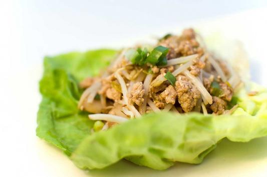 3. Lettuce Wrap