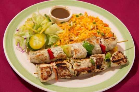 Sheek Kebab (w/ Masala Potatoes)
