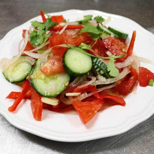 Uyghur Salad 皮辣紅沙拉