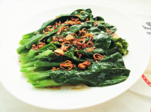 79. Gai Lan With Oyster Oil Or Garlic