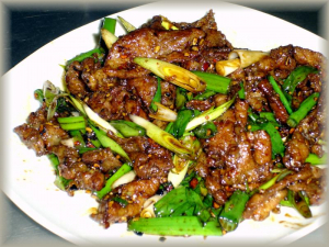 86. Green Onion Lamb Or Beef