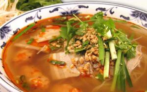 Pork Intestine In Hot Pot