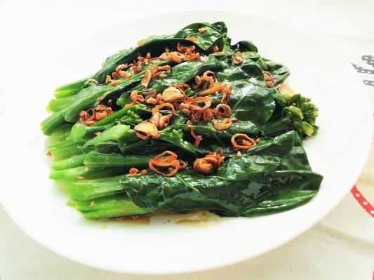 79. Gai Lan With Oyster Oil Or Garlic
