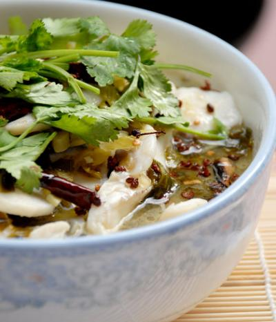 111. Boiled Fish With Pickled Cabbage and Chili