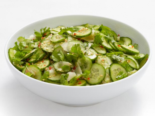 68. Flavored Cucumber With Sesame Sauce