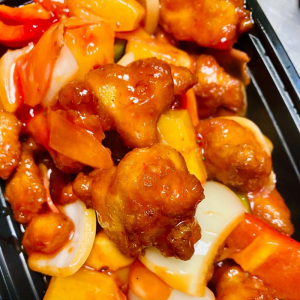 Chicken with Pineapple and Sweet Ginger