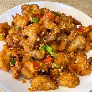 Crispy Chicken with Spicy Salt