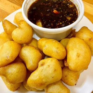 Fish Balls with Garlic and Black Bean Sauce