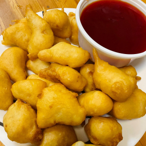 Fish Balls with Sweet-and-Sour Sauce