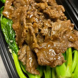 Beef with Chinese Gai Lan