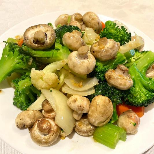 Mushroom Chop Suey
