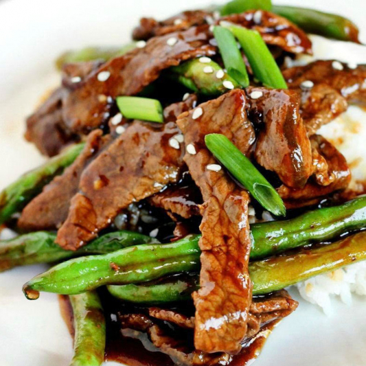 Beef with Green Bean