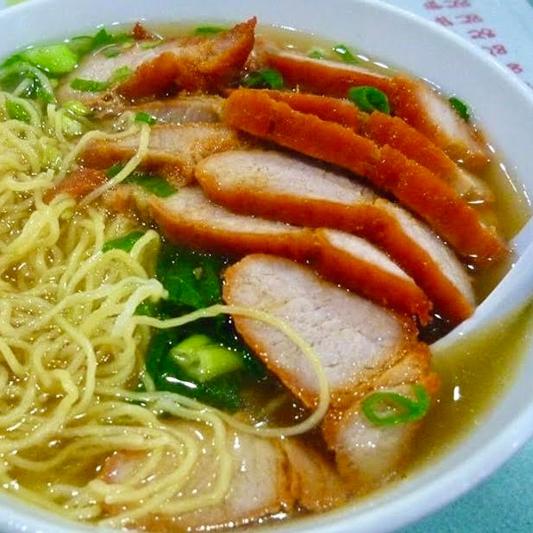 BBQ Pork Noodle Soup