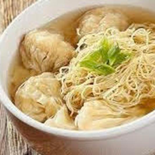 Wonton Noodle Soup (12 pcs)