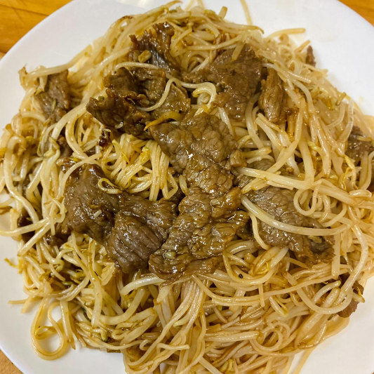 Beef Fried Vermicelli