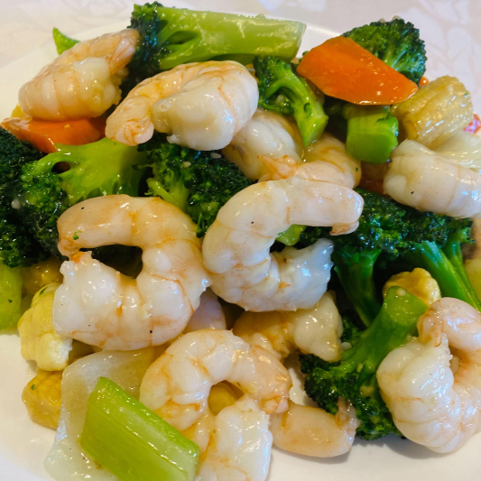 Prawns with Mixed Vegetables