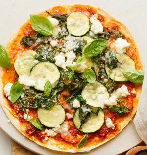 Zucchini Delight Pizza