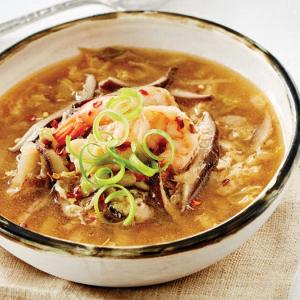 12. Mushroom & Egg Swirl Soup