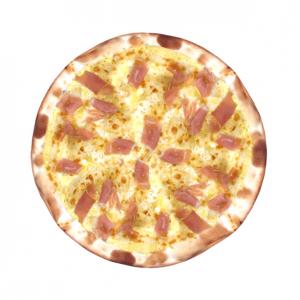 Пицца сливочная с Пармской ветчиной