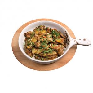 Жаркое из Свинины с Картофелем и Овощами в