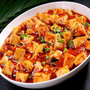 56. Minced Beef with Tofu & Spicy Sauce