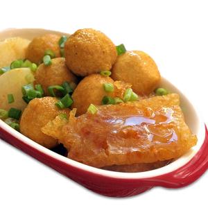 3. Curry Fish Balls & Tofu