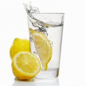 8. Lemon Water
