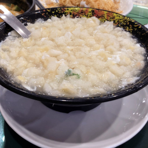 7. Crab Meat & Fish Maw Soup
