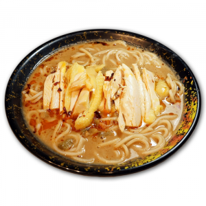 2 .Dan Dan Noodle w/ Shredded Chicken in Soup