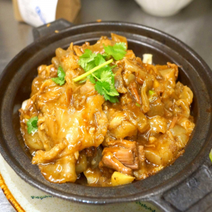 26. Boneless Chicken in Hot Pot