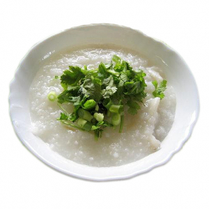 3. Sole Fish Fillet & Parsley Congee