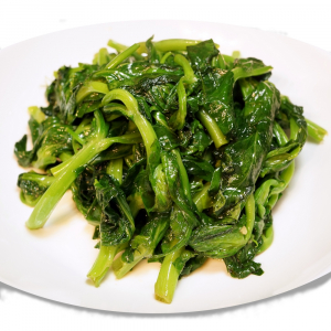 Sautéed Pea Sprout or with Garlic
