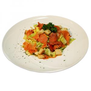 13. Smoked Salmon Caesar Salad