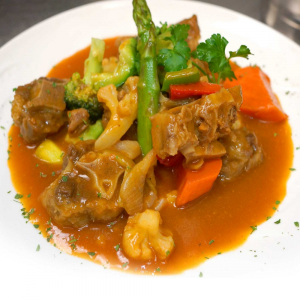1. Braised Ox Tail in Red Wine Sauce