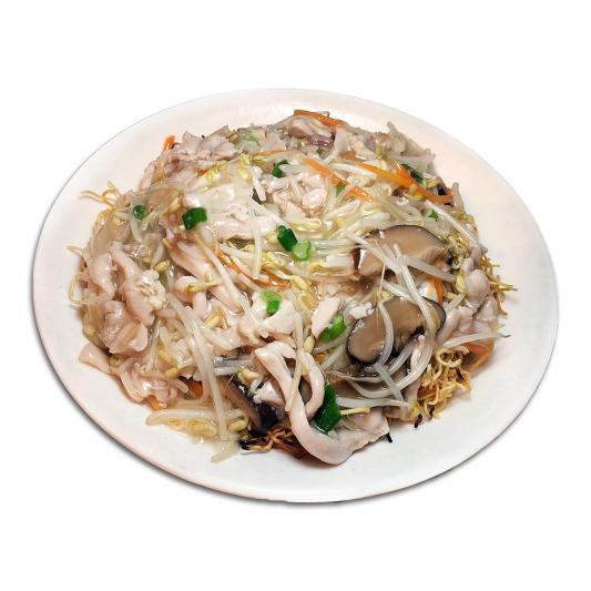 34. Shredded Chicken Crispy Noodle