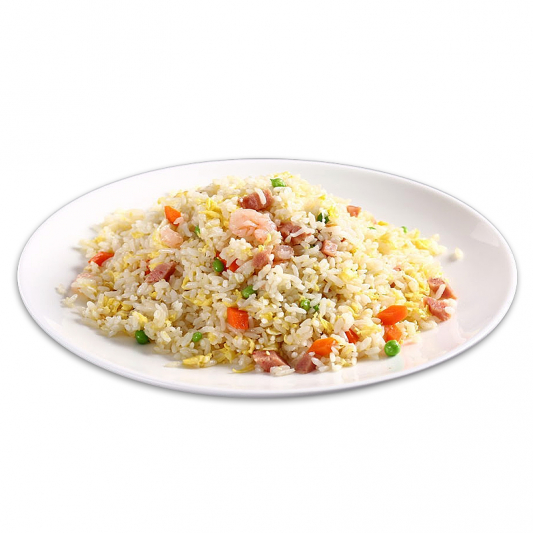 11. Young Chow Fried Rice (BBQ Pork & Shrimp)