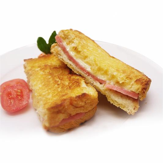 5. Grilled Cheese & Ham Sandwich