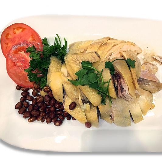 20. Hainan Style Chicken (Half)