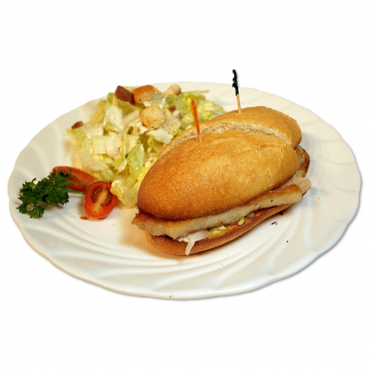 7. Portuguese Pork Chop / Chicken Steak / Fish Cutlet Bun