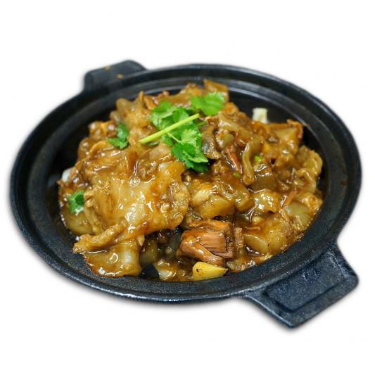 54. Braised Beef Brisket & Beef Tendon in Hot Pot