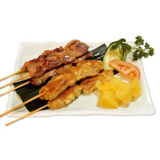2. Satay Skewers: Chicken & Beef