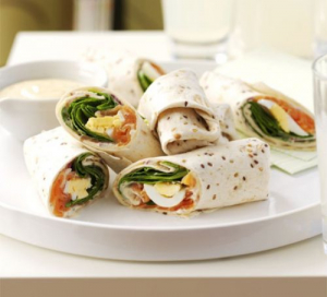 Veggies Salmon Wrap (6pcs)