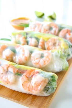 Mini Shrimp Spring Roll