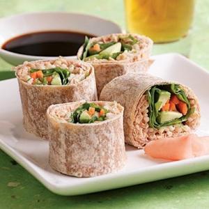 Veggie Tuna Wrap (6 pcs)