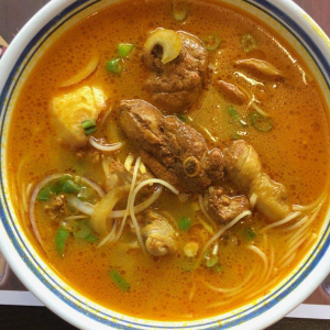 C14- Curry Chicken soup with Vermicelli